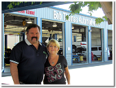 Bob and Lori of Bob Thomas Automotive