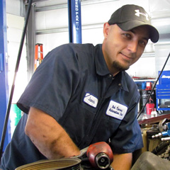 BTA Auto Technician, James Welshonse