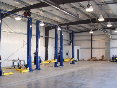 Fleet Repair Service in Dedicated Bays at BTA