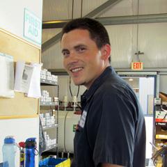 BTA Technician Assistant Victor Mackay
